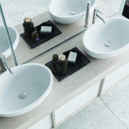 Wide-rim basins
